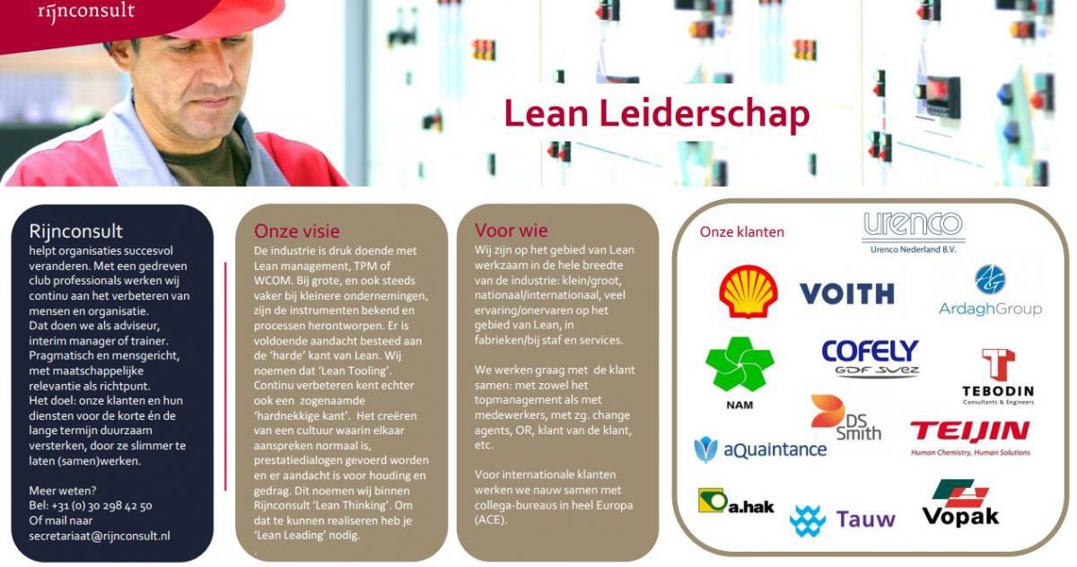 lean leiderschap